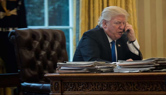 White House: Trump having tests as part of medical checkup