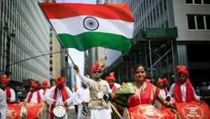 Indians in the United States celebrate Independence Day with fervour