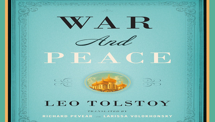 After war, peace: Judge says he knew Tolstoy book was classic