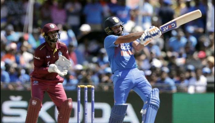 All-round Krunal, Rohit power Ind to series-clinching 22-run win against WI