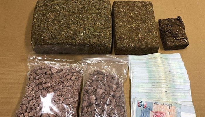 Police arrest three people, seize 150 kgs of cannabis