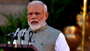 Cong spreading rumours abroad over Art 370, punish it in polls: Modi