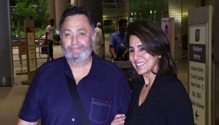 Veteran actor Rishi Kapoor returns to India after cancer treatment
