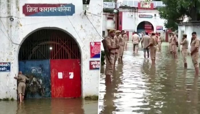 Ballia barracks flooded, inmates being shift to another jail