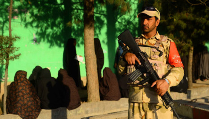 Blasts as insurgents try to disrupt Afghan presidential election