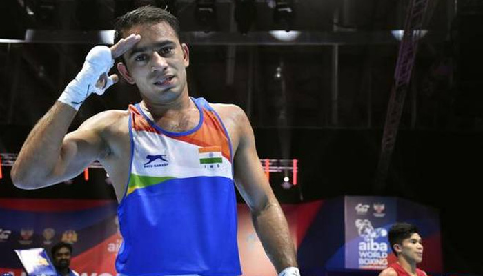 Boxing World C'ships: Panghal becomes first Indian to enter final