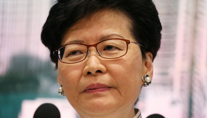 Beijing says it firmly supports Hong Kong leader Carrie Lam