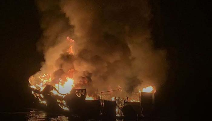 Coast Guard: Nearly 25 bodies found after California boat fire