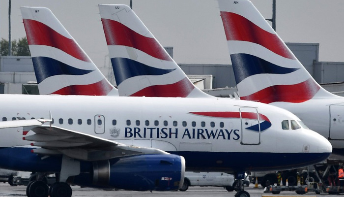 British Airways says almost all UK flights cancelled over strike