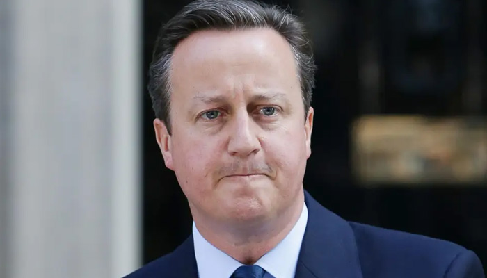Former Prime Minister Cameron sorry for Brexit divisions