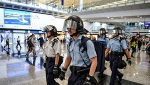 Hong Kong pro-democracy protesters aim to 'stress test' airport