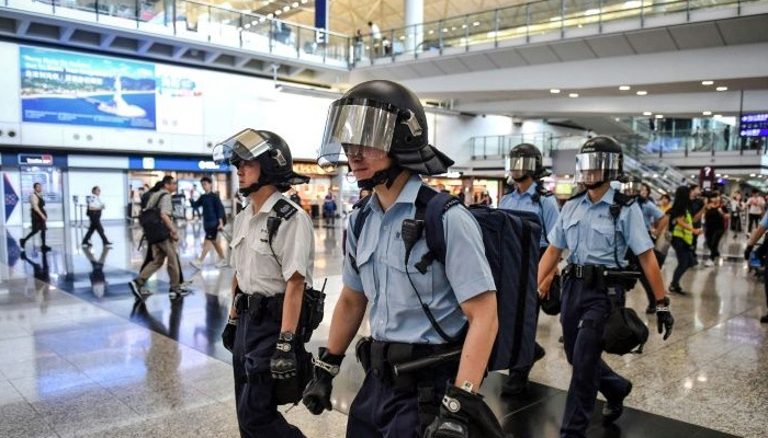 Hong Kong pro-democracy protesters aim to stress test airport