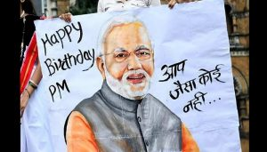 #HappyBdayPMModi: Personalities who wished Modi on twitter