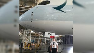 Captain Mark Smith – An Exceptional Asset For Cathay Pacific Airways!