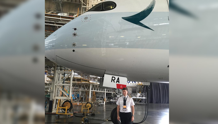 Captain Mark Smith - An Exceptional Asset For Cathay Pacific Airways!