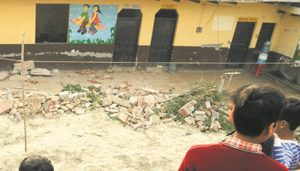 Three students dead after school wall collapses in Rajasthan
