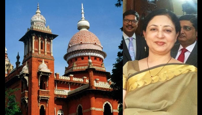 Resignation of Madras HC Chief Justice V K Tahilramani accepted