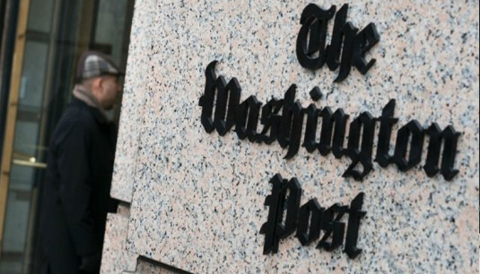Kashmiri Pandits stage protest against The Washington Post in US