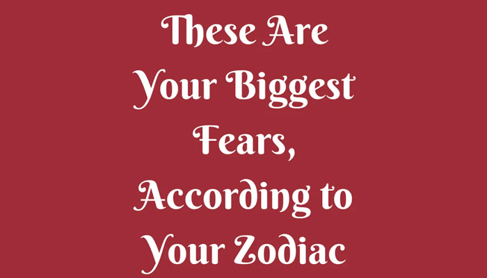 Here are your biggest fears according to your zodiac signs- know more