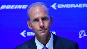 Boeing CEO faces questions over plane involved in 2 crashes
