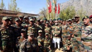 PM reaches Rajouri to celebrate Diwali with troops on LoC in J-K