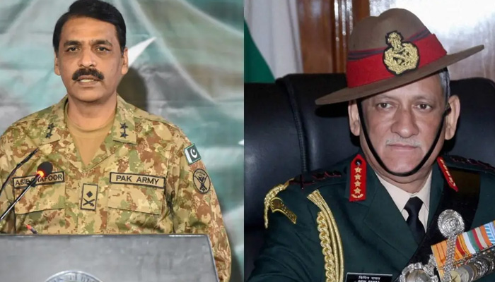 Indian Army chief provoking war through statements: Pak Army