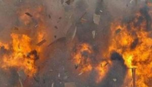Massive Blast in building near Karachi; 3 dead & many injured