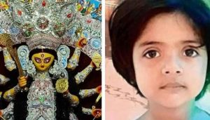 Kolkata: Bengal family worships Muslim girl in Kumari Puja