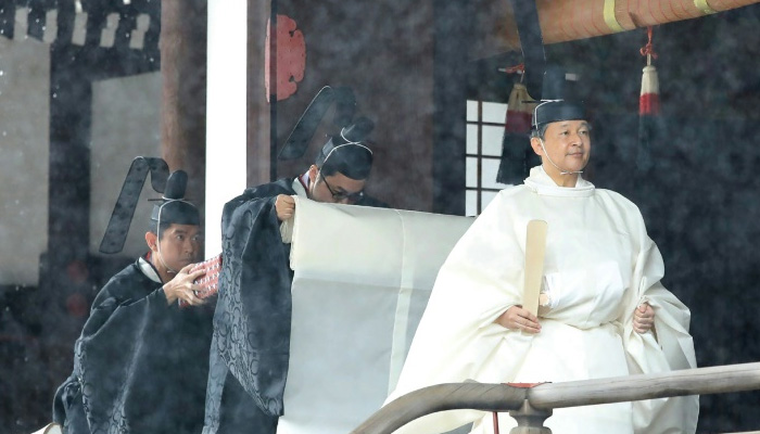Japan emperor to complete enthronement in ritual-bound ceremony