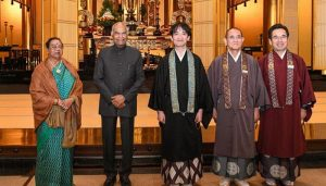 Prez Kovind attends enthronement ceremony of Japan's Emperor