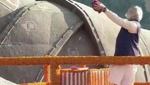 PM pays floral tributes to Sardar Patel at Statue of Unity