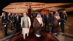 PM arrives in Saudi Arabia to attend key economic forum