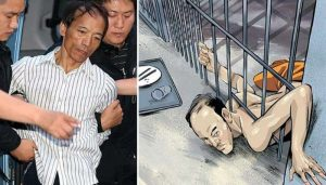 Unbelievable! This man escaped from jail by squeezing his body!
