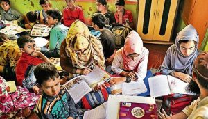 Special schools making up for academic losses of students in Kashmir