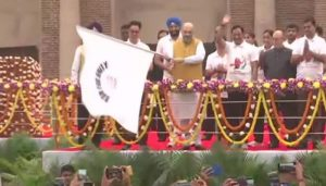 Shah flags off 'Run for Unity' to commemorate Patel's birth anniversary
