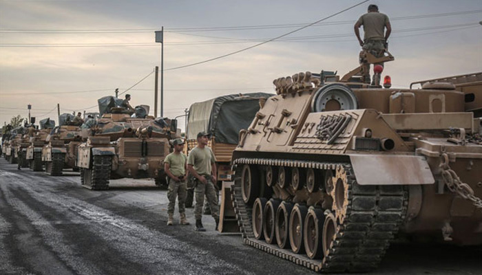 France halts arms exports to Turkey over Syria offensive