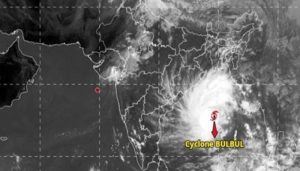 'Bulbul' to make landfall by late Saturday evening or night