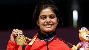 India's Manu Bhaker wins gold in World Cup Finals