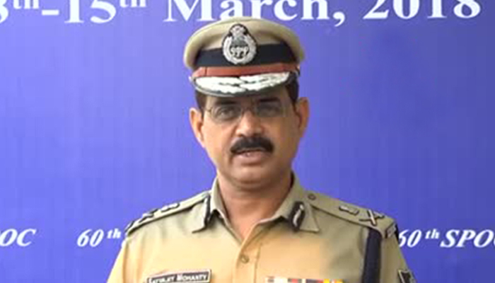 Satyajit Mohanty assumes office as in-charge DGP of Odisha