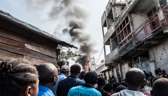 Plane crashes into homes in east DR Congo city, killing 29