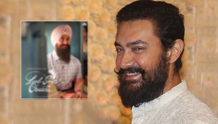 Aamir Khan posts first look from Laal Singh Chaddha