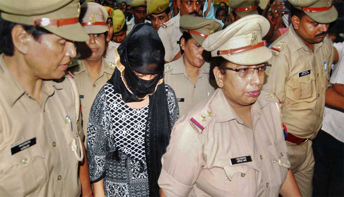 Bareilly: Woman who accused Chinmayanand of sexual harassment taken for LLM exam