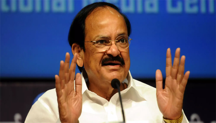 Notices to lapse if House proceedings adjourned due to disruptions: Naidu