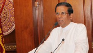 Sirisena eyes return to Parliament, says expelled lawmaker