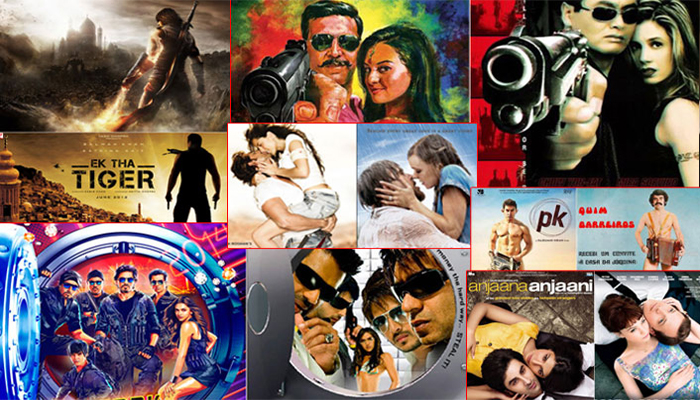 Bollywood shamelessly copied posters of these films from Hollywood