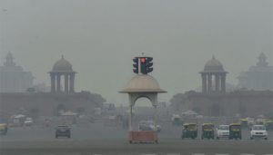 Delhi's Air Quality Index improves from 'severe' to 'poor'