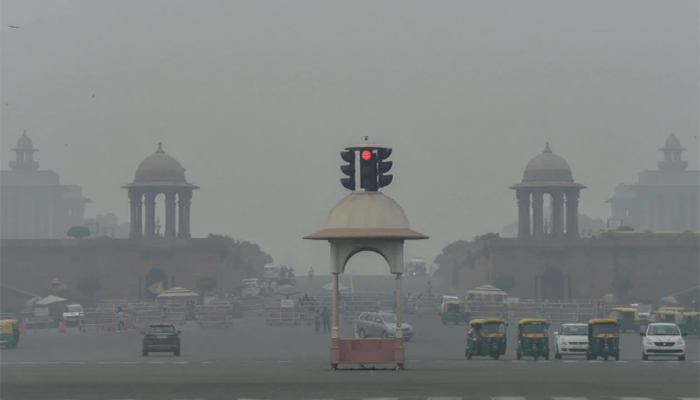 Delhis Air Quality Index improves from severe to poor
