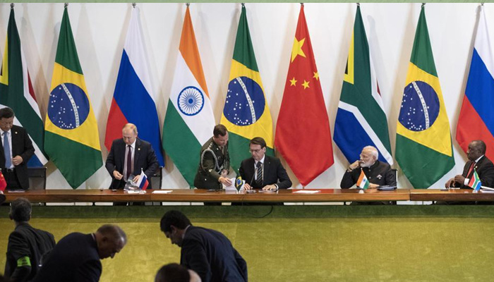 In swipe at United States, BRICS hit out at protectionism