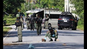 Atleast 15 killed in suspected rebel attacks in Thailand's south