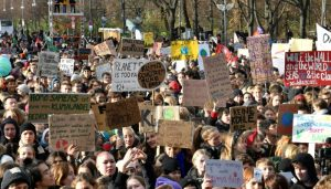 Tens of thousands rally in Europe, Asia before UN climate summit